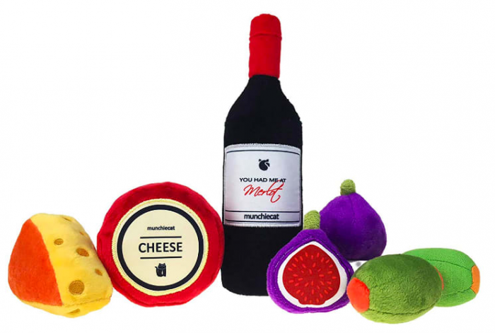 11. Wine & Cheese Catnip Toys