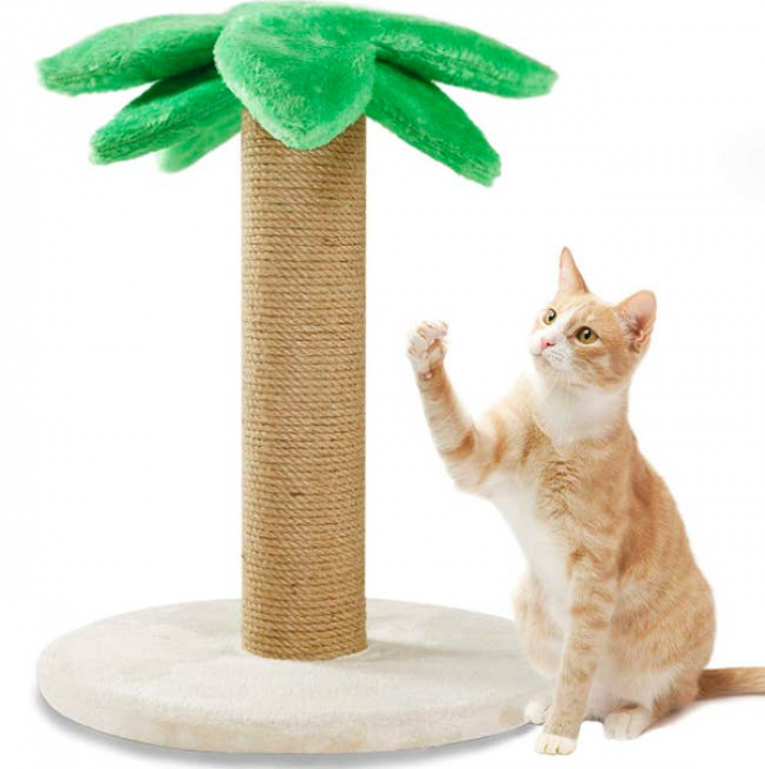 4. Tropical Scratching Post