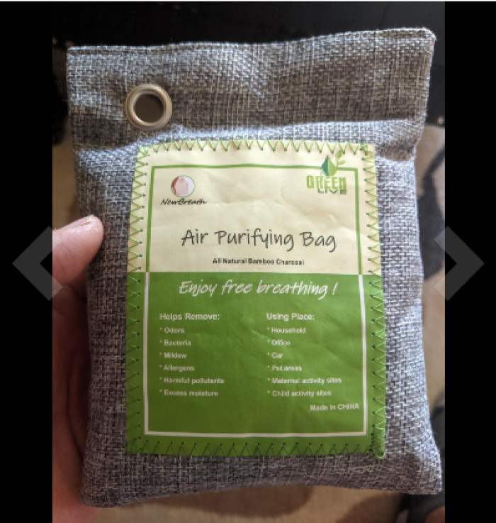 20. Charcoal Air Purifying Bags