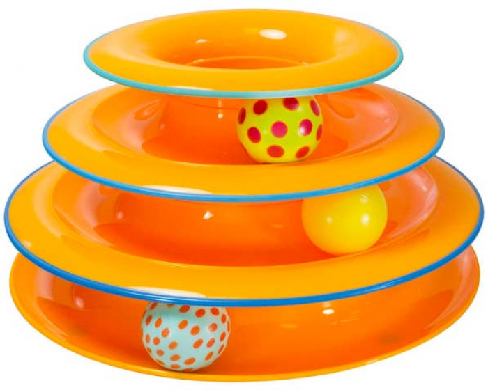 5. Toy Ball Tower